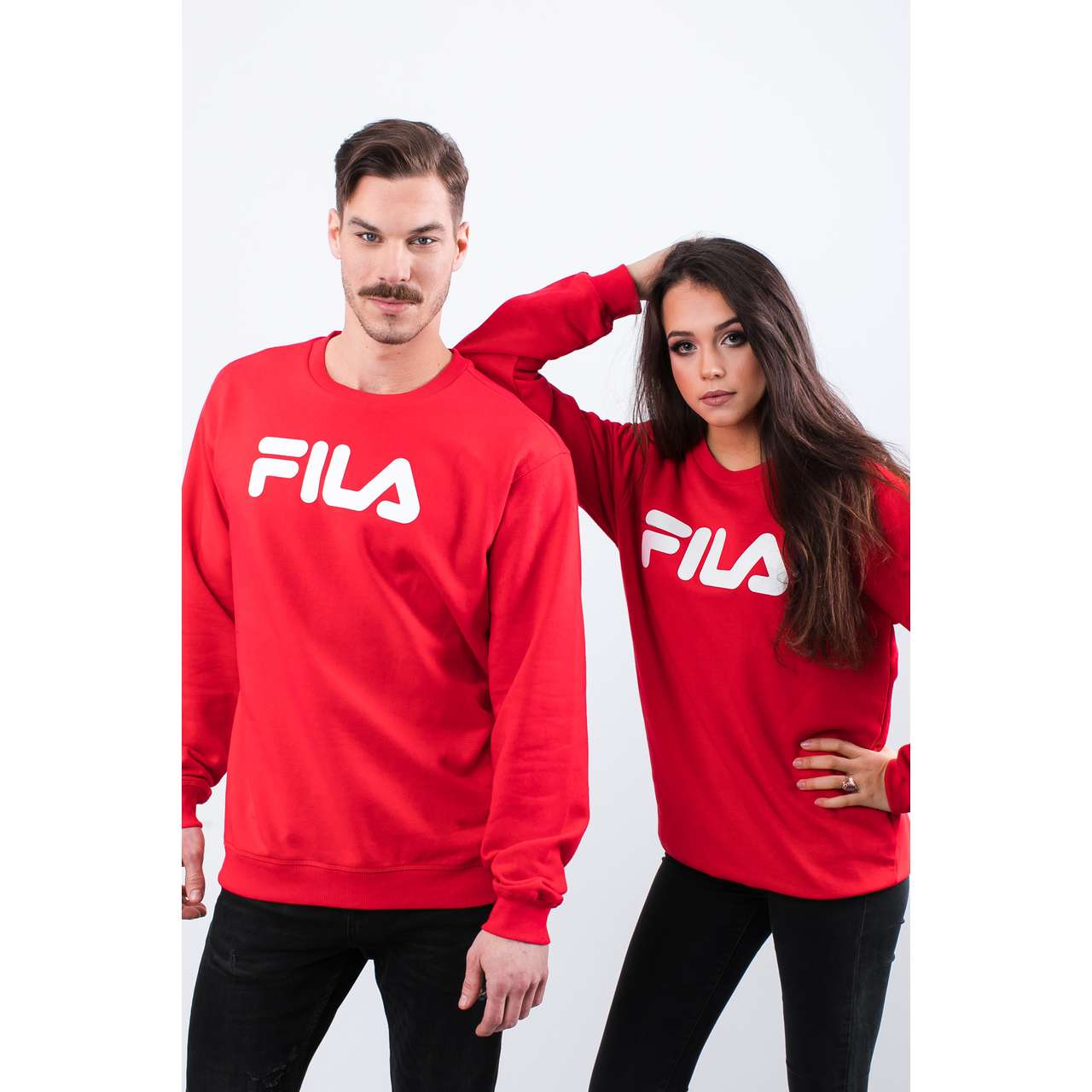 Bluza Fila  <br/><small>PURE CREW SWEAT 006 TRUE RED </small>  681091-006