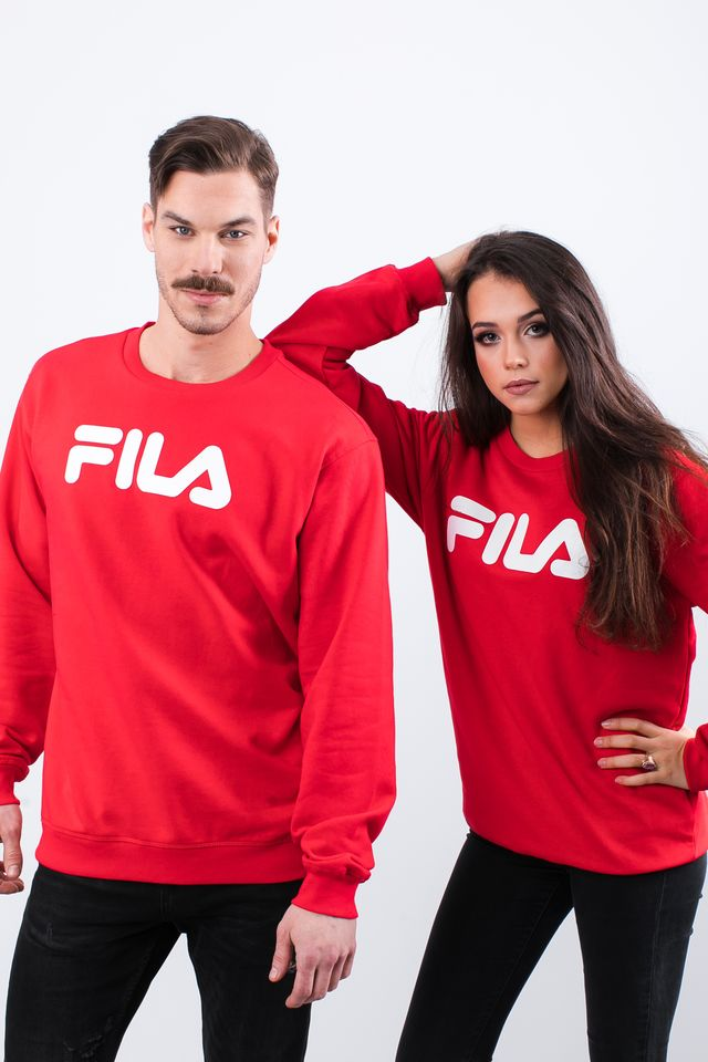Fila PURE CREW SWEAT 006 TRUE RED 681091-006
