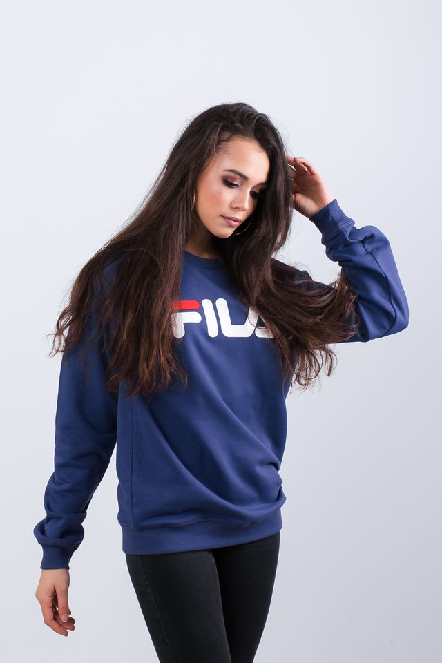 Bluza Fila  <br/><small>PURE CREW SWEAT 170 BLACK IRIS </small>  681091-170