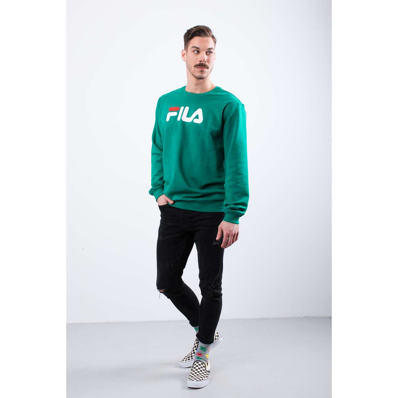Bluza Fila  <br/><small>PURE CREW SWEAT 177 SHADY GLADE </small>  681091-177