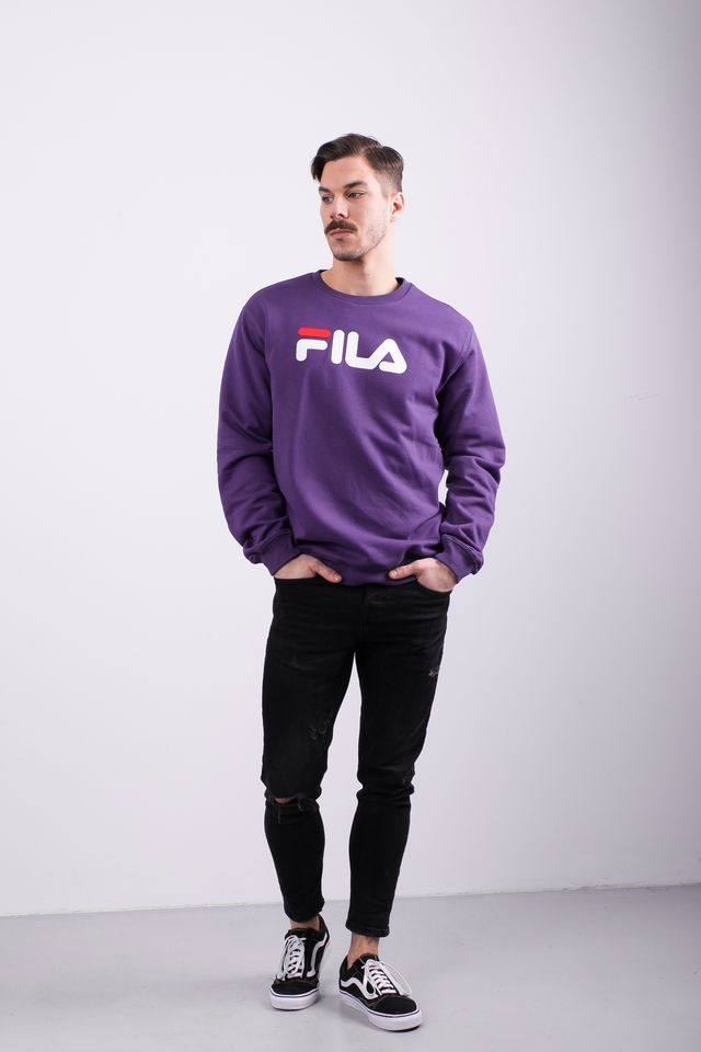 Bluza Fila  <br/><small>PURE CREW SWEAT A033 TILLANDSIA PURPLE </small>  681091-A033