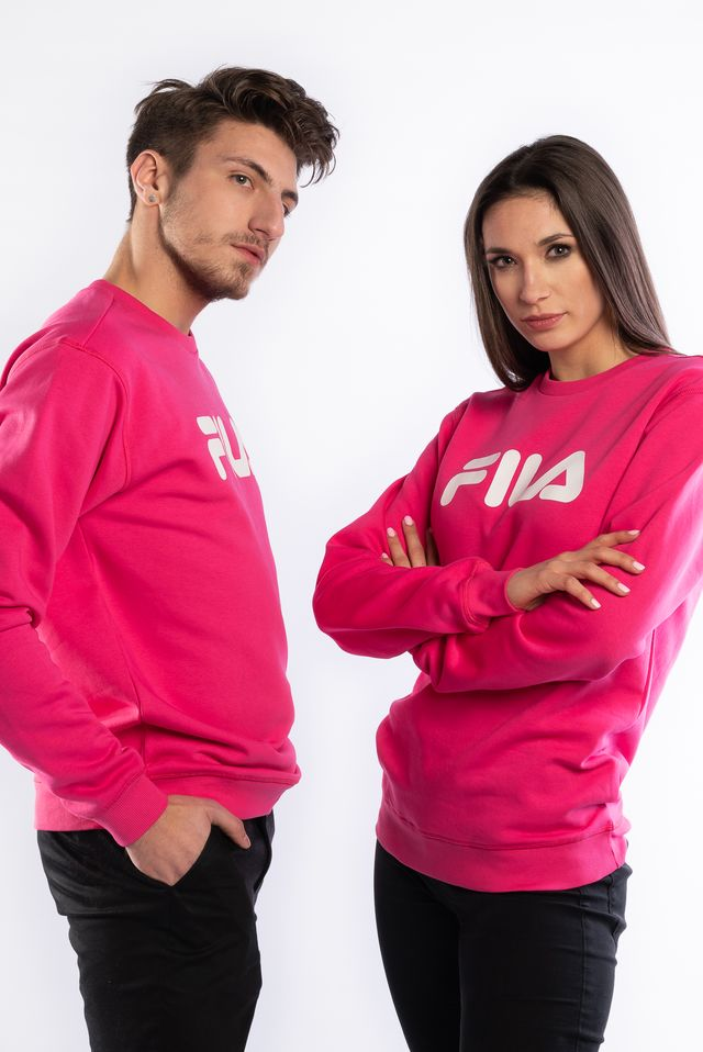 Fila PURE CREW SWEAT A163 PINK YARROW 681091-A163