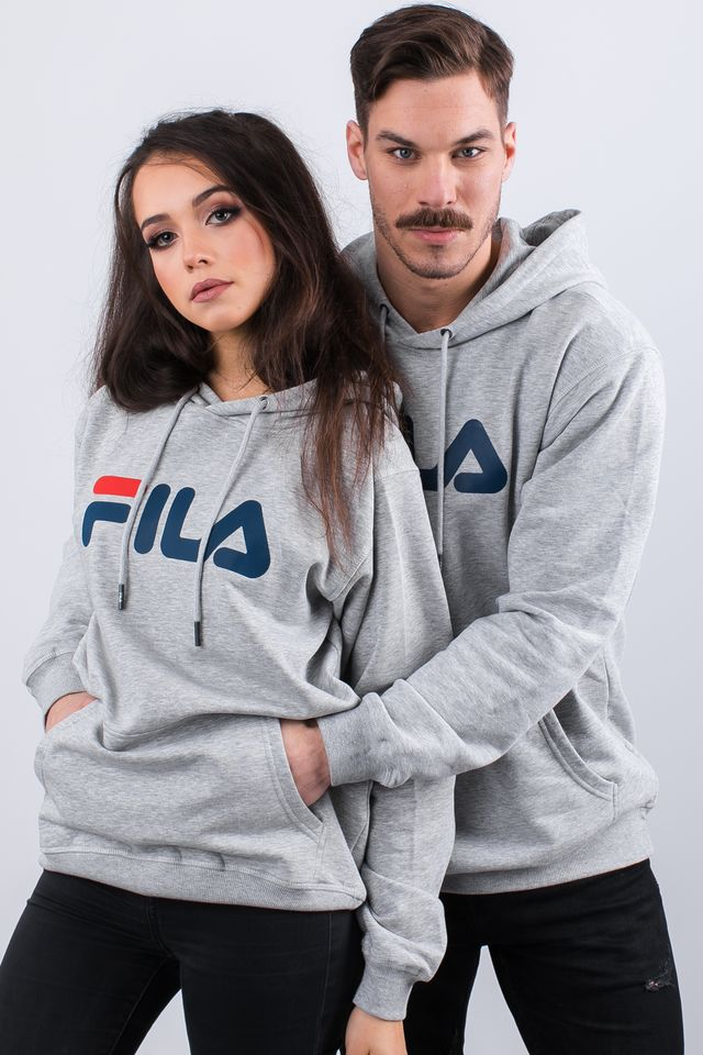 Fila PURE HOODY B13 LIGHT GREY MELANGE BROS 681090-B13