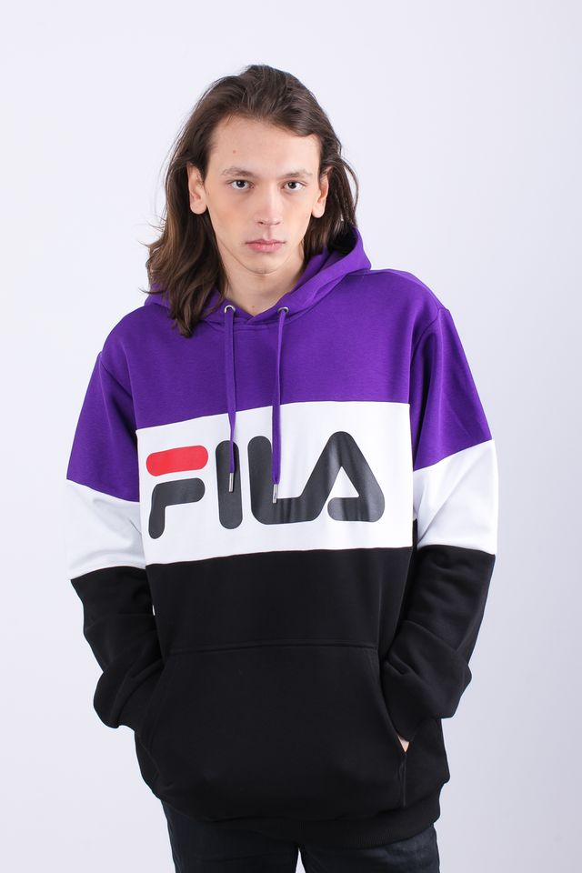Fila MEN NIGHT BLOCKED A178 BLACK/TILLANDSIA PURPLE/BRIGHT WHITE 687001-A178
