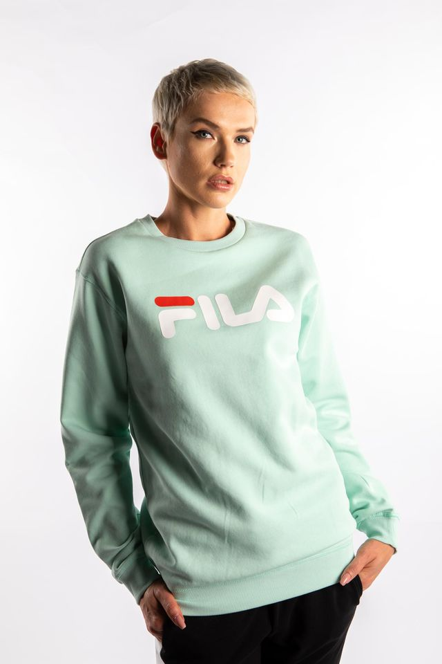 Fila PURE CREW SWEAT A204 MIST GREEN 681091-A204