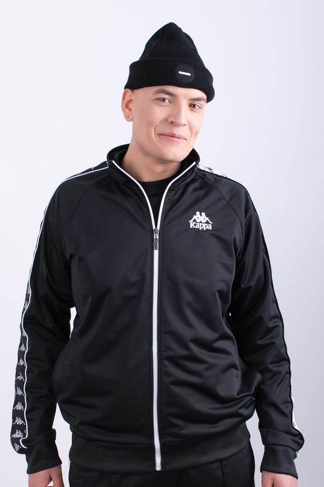 Kappa ELIAS TRACKSUIT JACKET 005 BLACK 305009-005