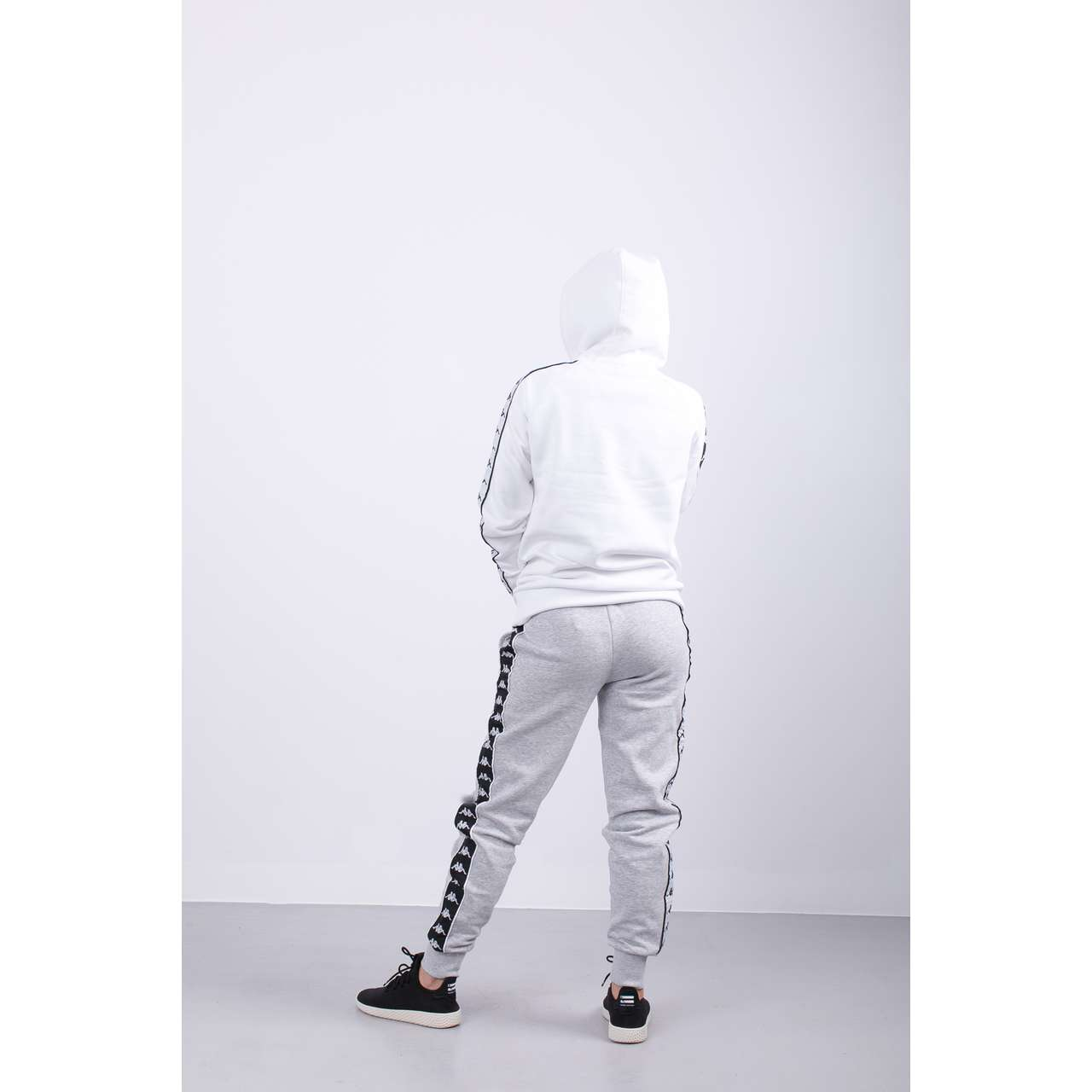 Bluza Kappa  <br/><small>ENNA HOODED SWEATSHIRT 001 WHITE </small>  305031-001