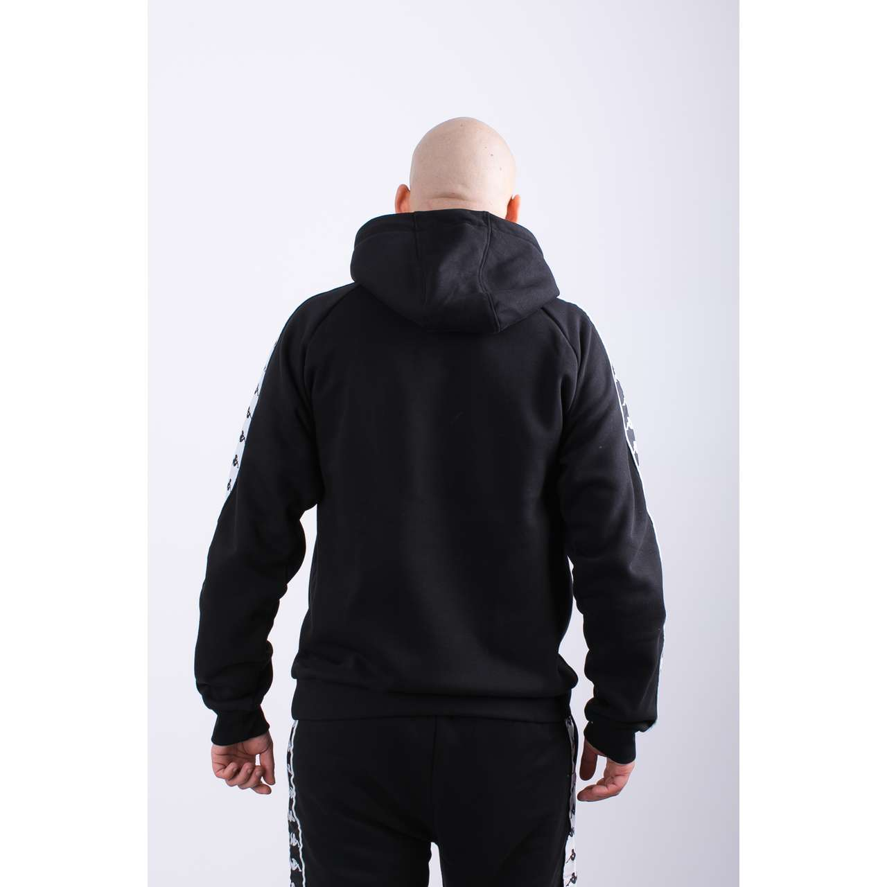 Bluza Kappa  <br/><small>ERNIE HOODED SWEATSHIRT 005 BLACK </small>  305004-005