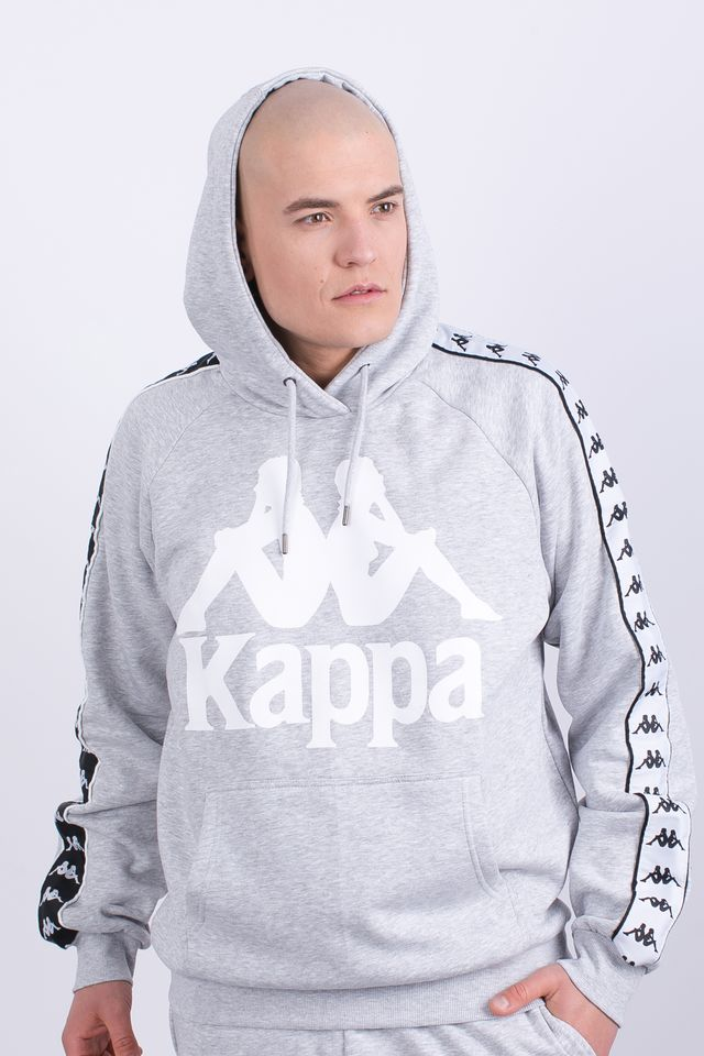 Kappa ERNIE HOODED SWEATSHIRT 18M GREY MELANGE 305004-18M