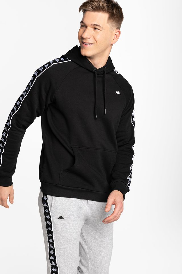 BLACK HARRO Men Hooded Sweatshirt 308017-4006