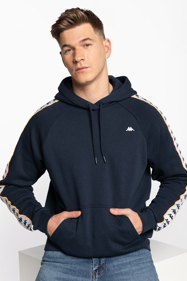 NAVY HARRO Men Hooded Sweatshirt 308017-4010