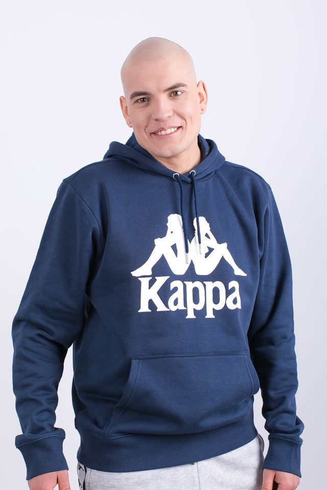 Kappa TAINO HOODED SWEATSHIRT 821 NAVY 705322-821