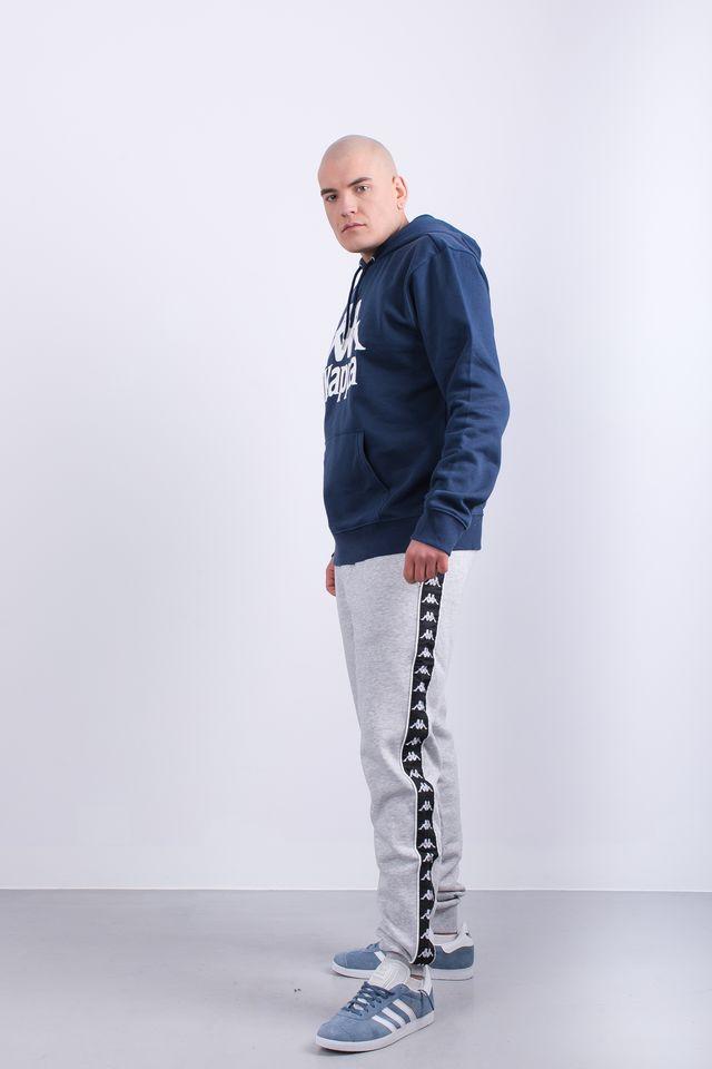 autentyczny wylot online rozmiar 7 Bluza Kappa TAINO HOODED SWEATSHIRT 821 NAVY - eastend.pl