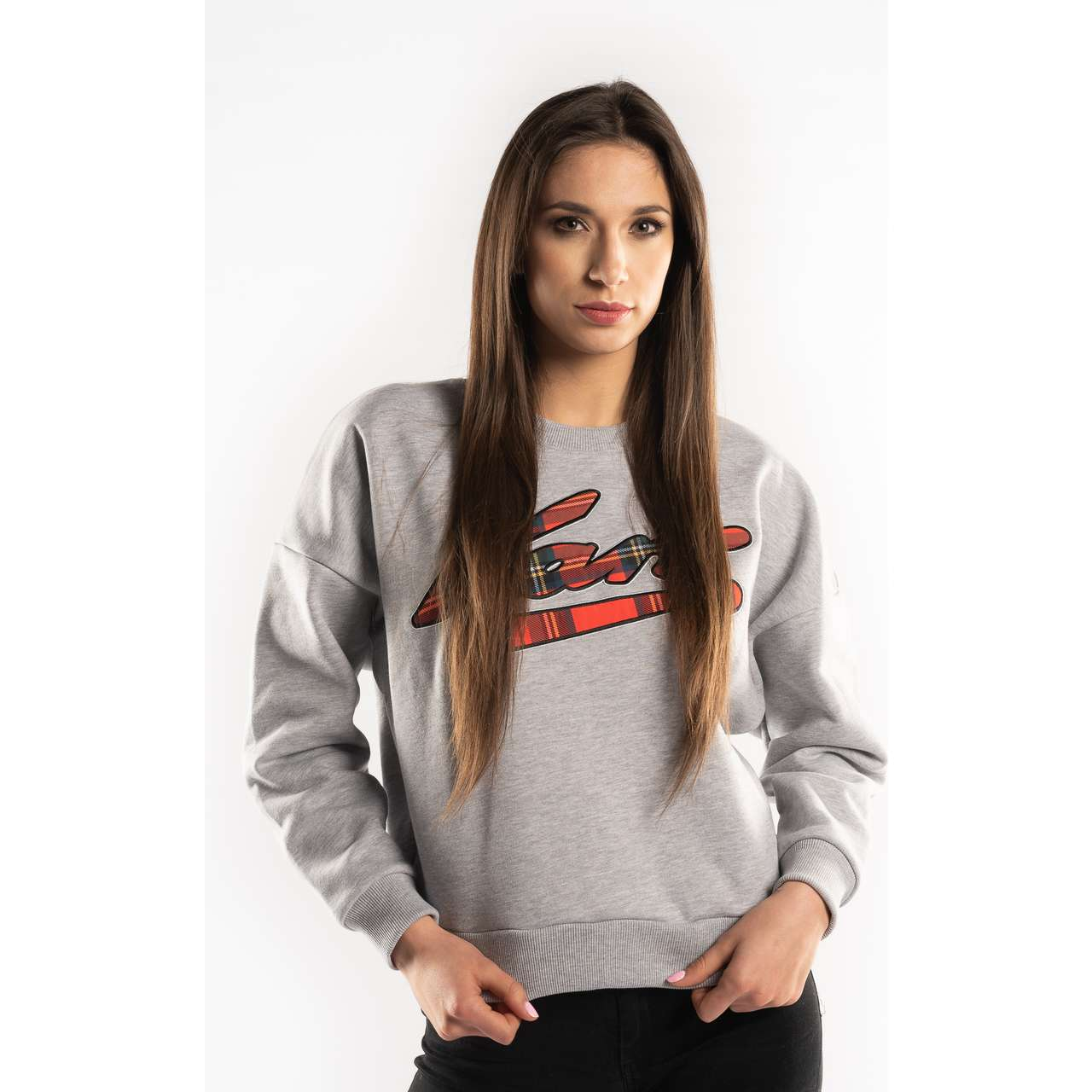 Bluza Karl Kani  <br/><small>COLLEGE CREW GREY/ORANGE </small>  6120516