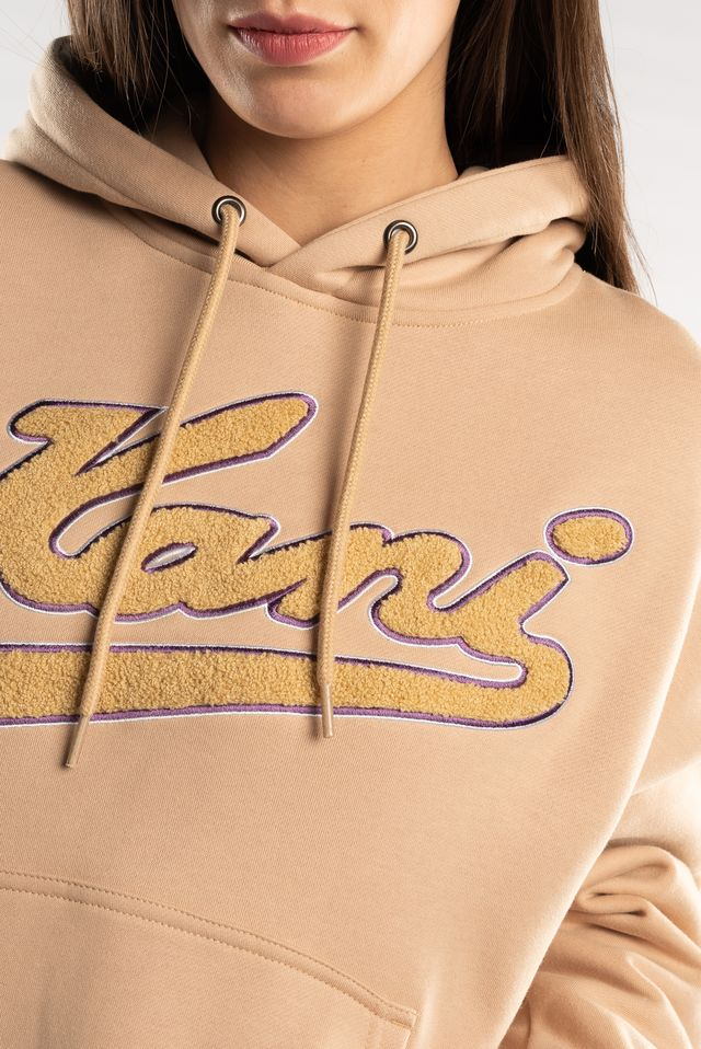 Bluza Karl Kani  <br/><small>COLLEGE HOODIE BROWN/PURPLE </small>  6091093