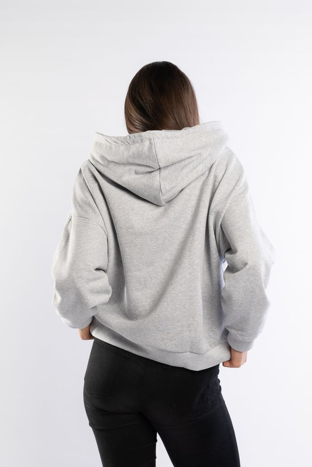 Bluza Karl Kani  <br/><small>COLLEGE HOODIE GREY/BEET RED </small>  6121684
