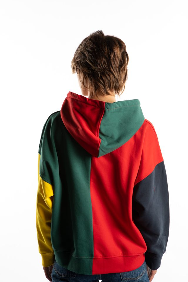 Bluza Karl Kani  <br/><small>SIGNATURE BLOCK HOODIE 867 RED/GREEN/BLUE/YELLOW </small>  6121867