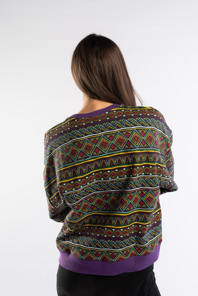 Bluza Karl Kani  <br/><small>SIGNATURE CREW PURPLE/MULTICOLOR </small>  6120569