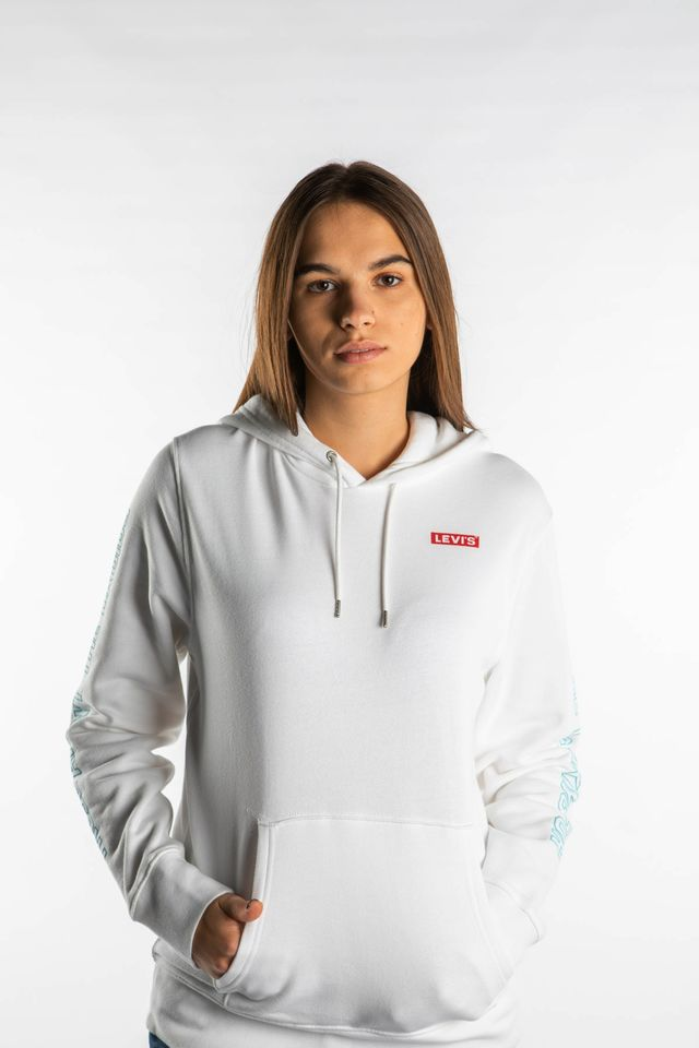 WHITE STAR WARS GRAPHIC PO HOODIE 0097