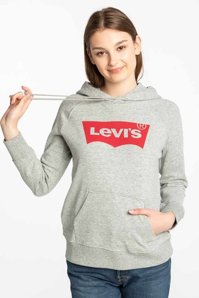 GREY GRAPHIC SPORT HOODIE 35946-0003