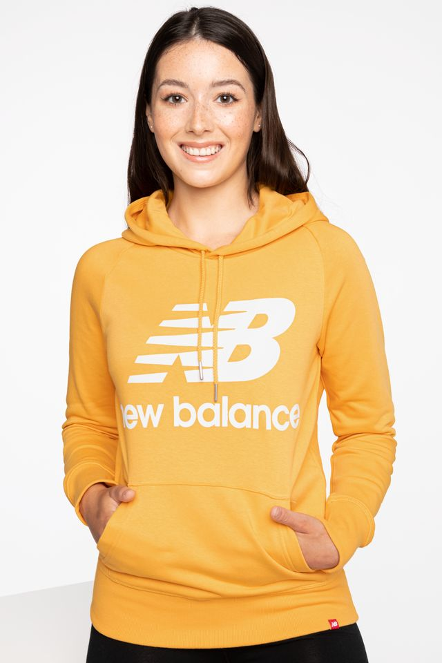 YELLOW BLUZA ESSENTIALS PULLOVER HOODIE ASE 550