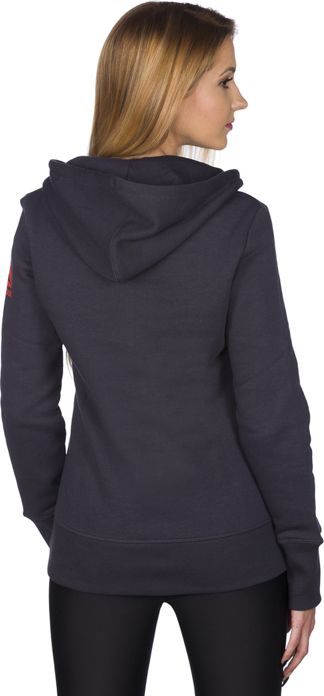 Bluza Reebok  <br/><small>RCF Full Zip Hoody Lead 235 </small>  BJ9235