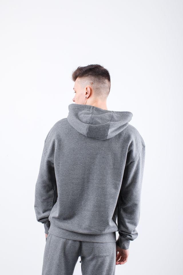 Bluza Russell Athletic  <br/><small>CHENILLE HOODY 090 COLLEGIATE GREY MARL </small>  E96081-090
