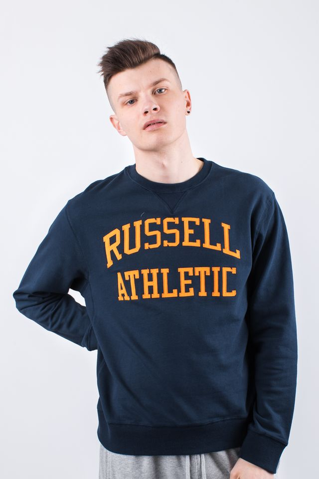 Russell Athletic CREW NECK SWEATSHIRT 290 NAVY A90031-290