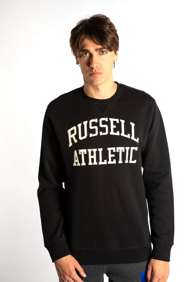 Russell Athletic CREWNECK SWEATSHIRT 099 BLACK A90862-099
