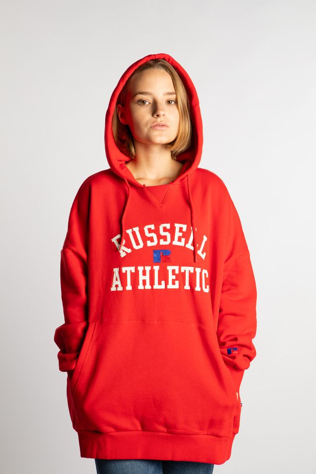 Bluza Russell Athletic  <br/><small>EMILY 464 TRUE RED </small>  E94022-464