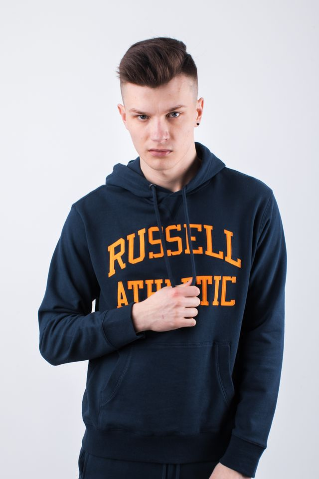 Russell Athletic HOODY SWEATSHIRT 290 NAVY A90041-290