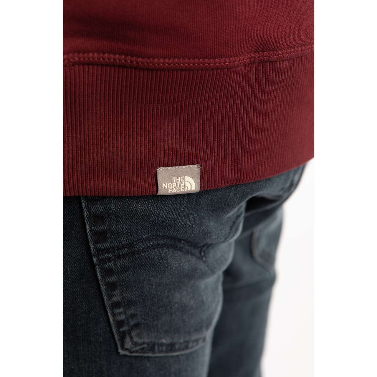 Bluza The North Face  <br/><small>DREW PEAK CREW HBM RED </small>  NF0A2ZWRHBM1