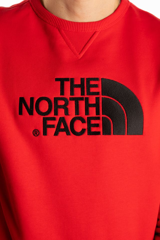 Bluza The North Face  <br/><small>DREW PEAK CREW 682 TNF RED </small>  T92ZWR682