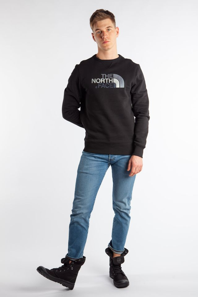 Bluza The North Face  <br/><small>DREW PEAK CREW JK3 TNF BLACK </small>  T92ZWRJK3