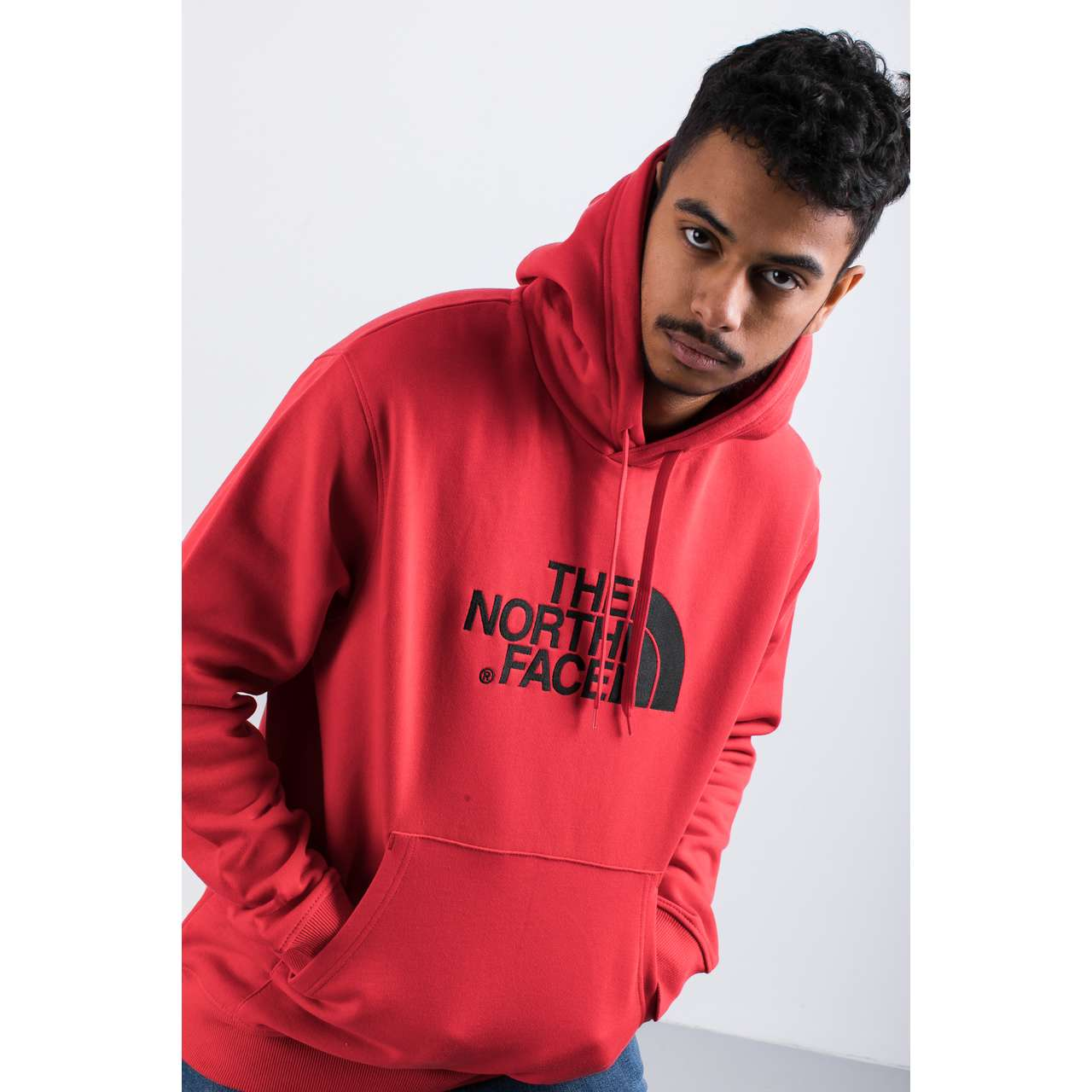 Bluza The North Face  <br/><small>DREW PEAK PLV HD H3H SALSA RED </small>  T0AHJYH3H