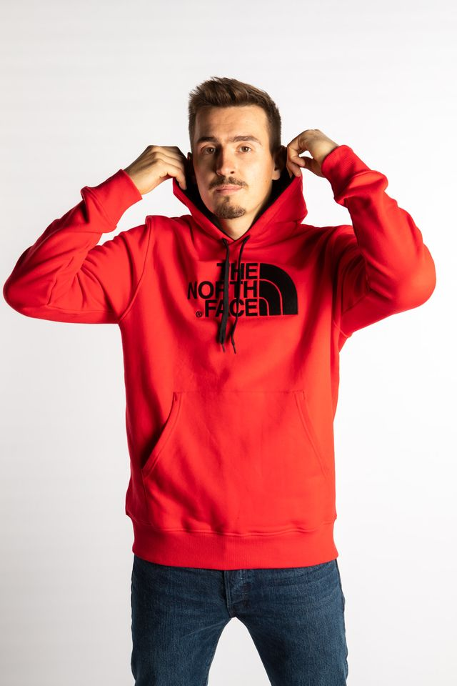 Bluza The North Face  <br/><small>DREW PEAK HOODY 64M TNF RED/TNF RED </small>  T0AHJY64M