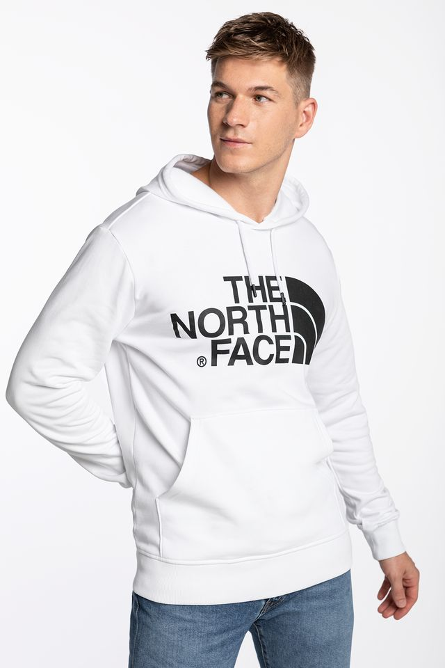 The North Face M STANDARD HOODIE N41 WHITE NF0A3XYDFN41