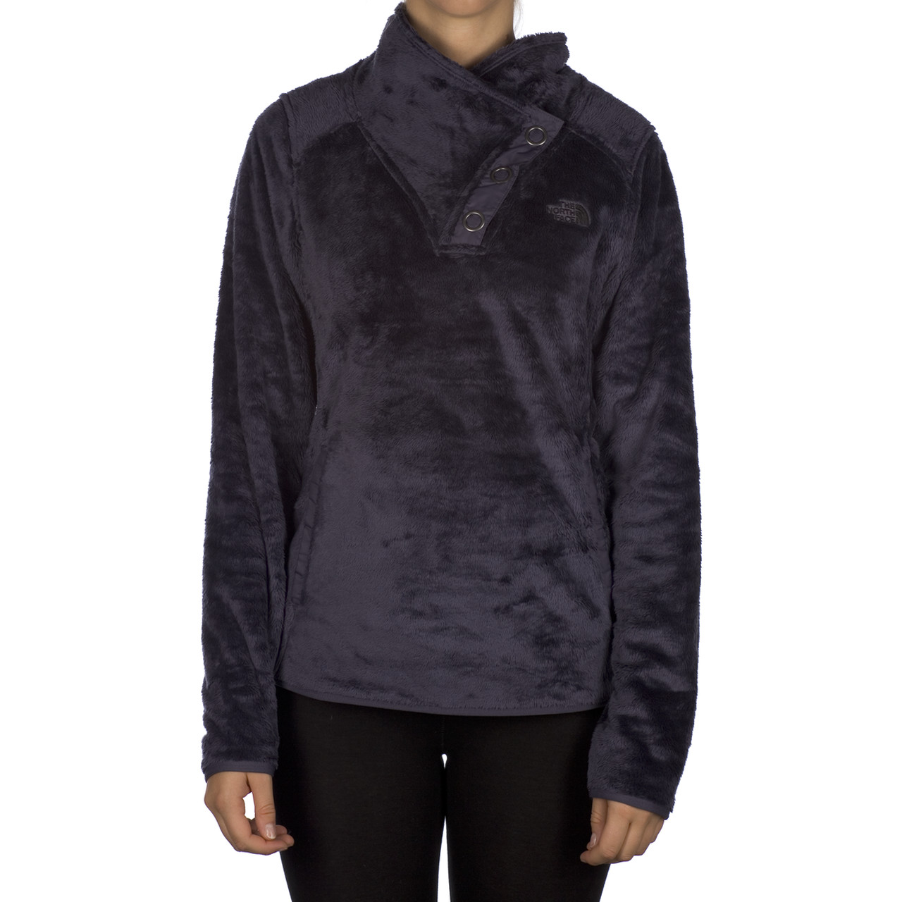 Bluzy The North Face  <br/><small>W Mossbud Snap Neck D3R </small>  T0A7QJD3R