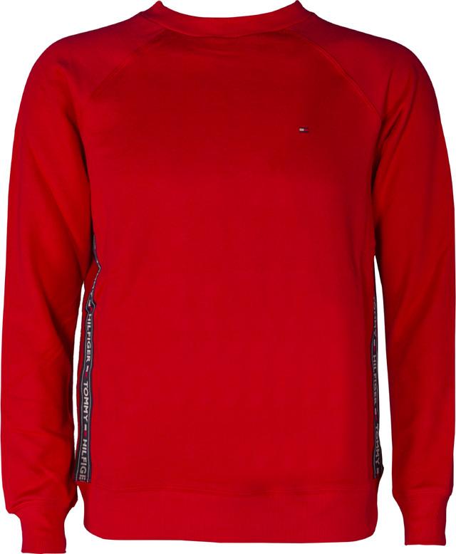 Tommy Hilfiger CREW NECK TOP LS HWK 611 TANGO RED UW0UW00581-611