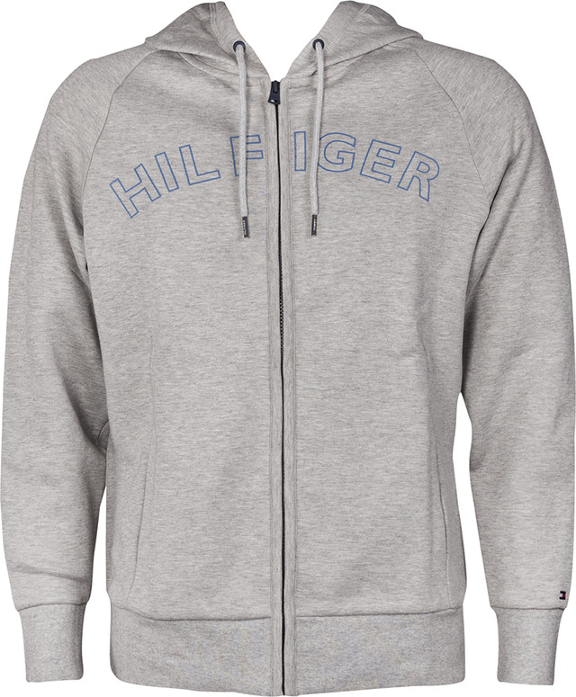 Tommy Hilfiger HOODY LS 004 GREY HEATHER UM0UM00715-004
