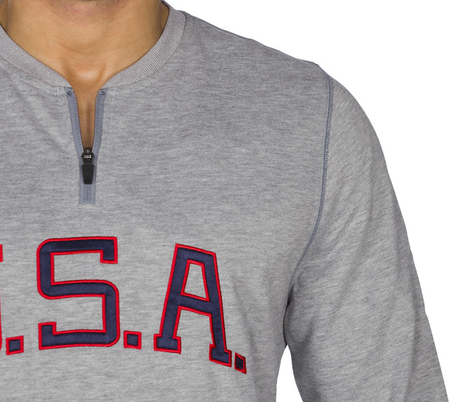 Bluza Under Armour  <br/><small>Clay 1/4 Zip Americana Crew 025 </small>  1287841-025