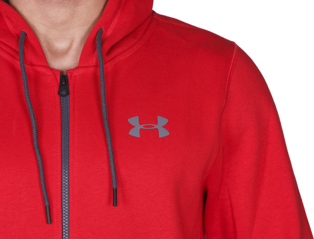 Bluza Under Armour  <br/><small>Storm Rival Cotton Full Zip 600 </small>  1280781-600