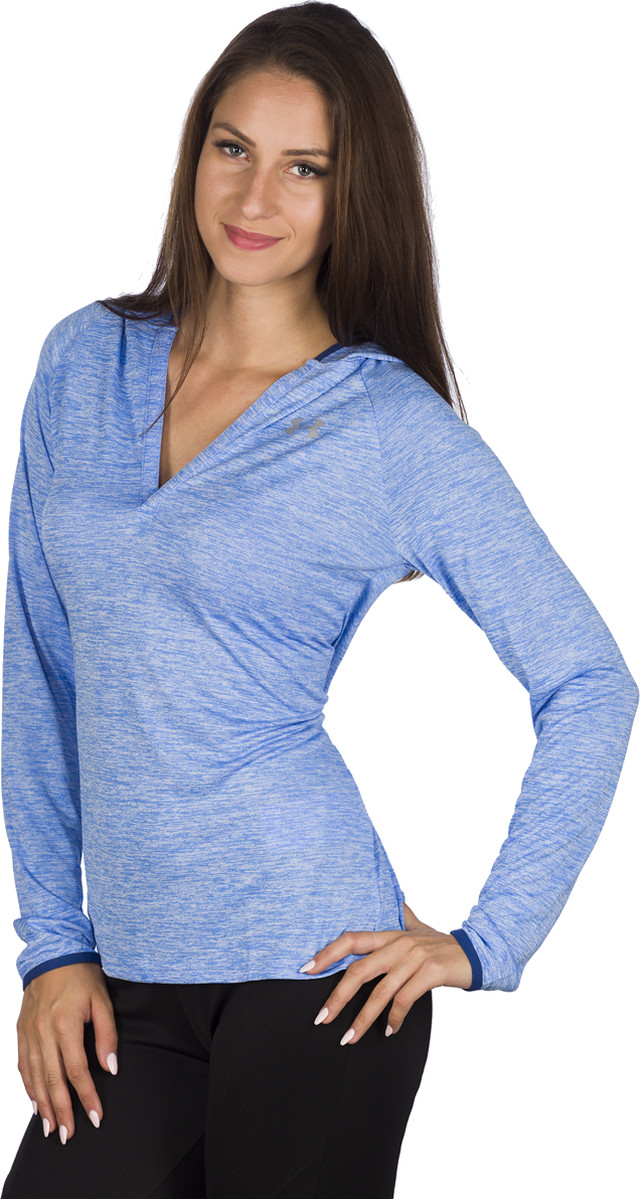 Bluza Under Armour  <br/><small>TECH LS HOODY TWIST WTR 464 </small>  1269181-464