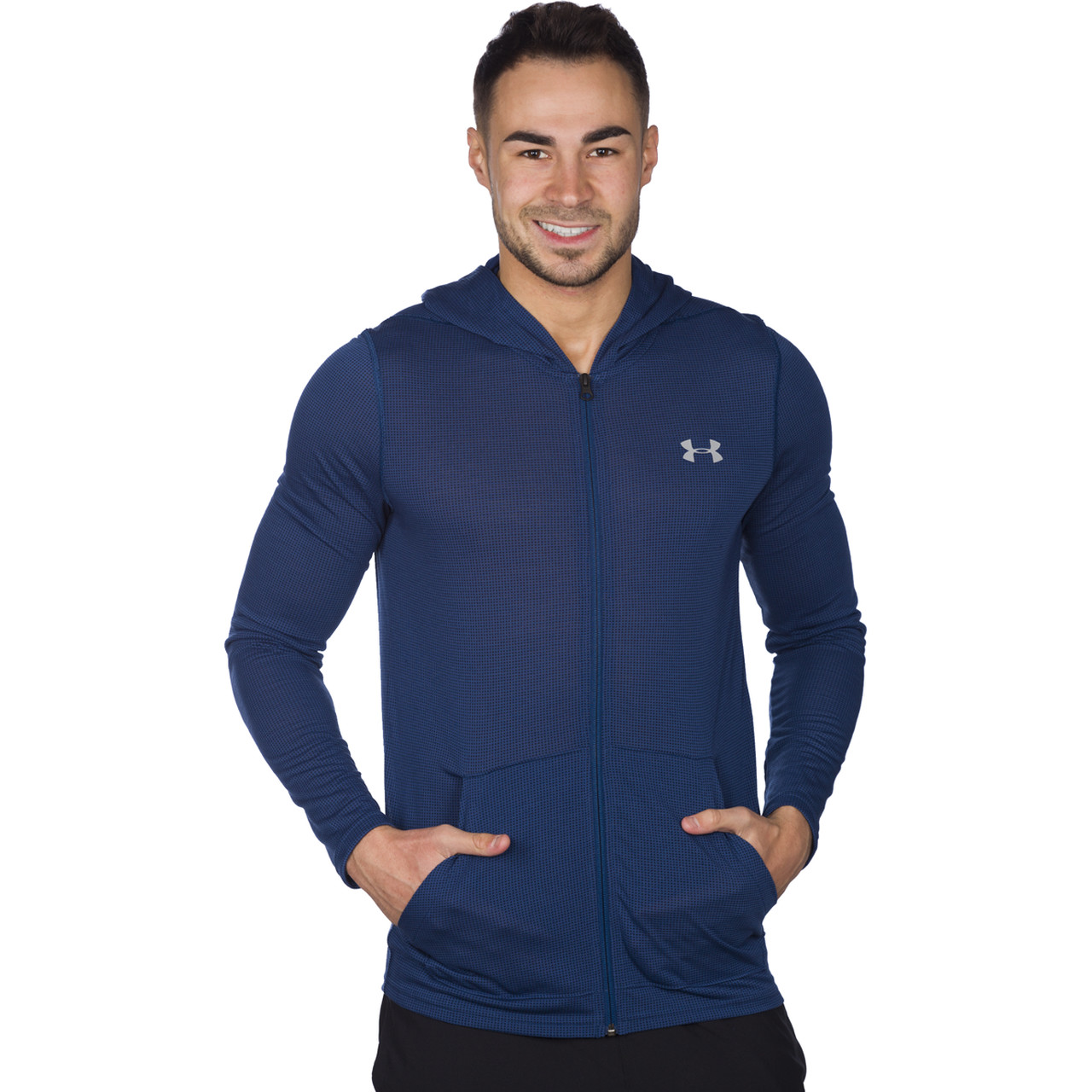 Bluza Under Armour  <br/><small>THREADBORNE FITTED FZ HOODY 997 </small>  1290301-997