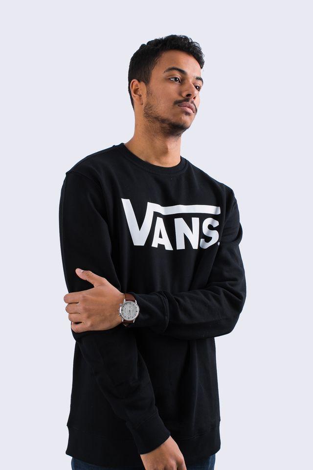 Vans CLASSIC CREW Y28 BLACK/WHITE VN000YX0Y28