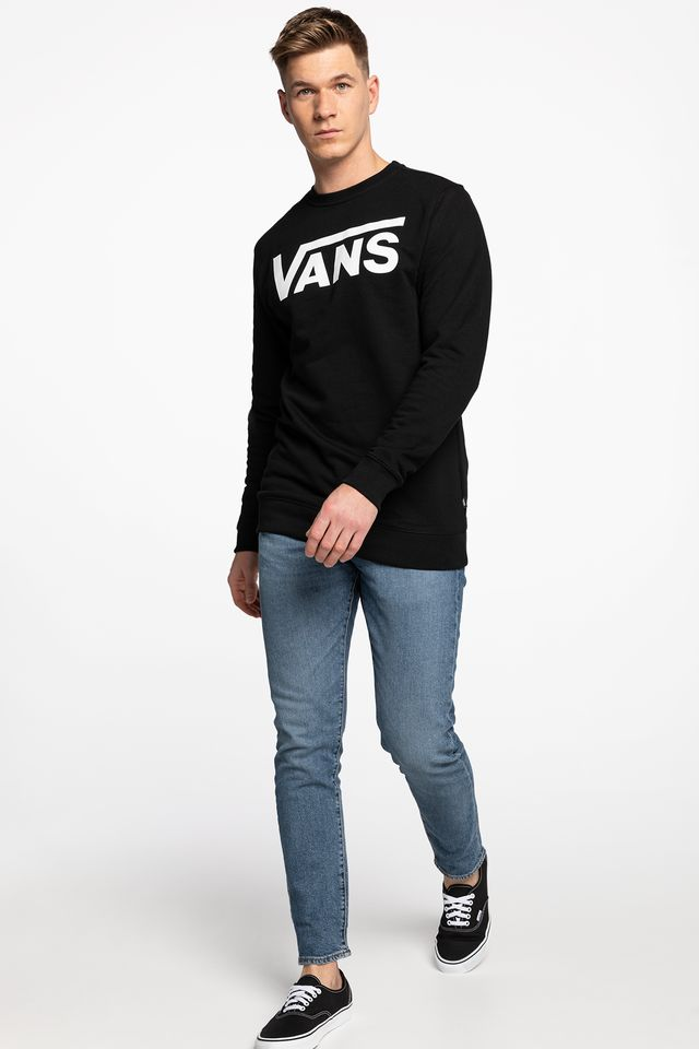 Bluza Vans  <br/><small>CLASSIC CREW II Y28 BLACK/WHITE </small>  VN0A456AY28