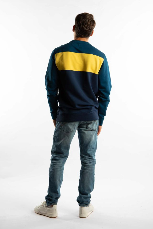 Bluza Vans  <br/><small>RETRO ACTIVE CREW TOH GIBRALTAR SEA/DRESS BLUES </small>  VN0A45AQTOH
