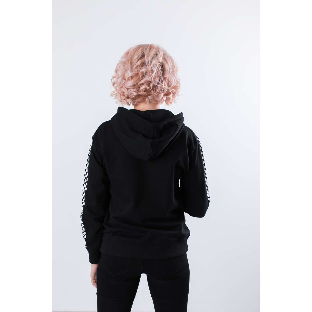 Bluza Vans  <br/><small>FUNNIER TIMES HOODIE BLK BLACK </small>  VN0A3UNMBLK1