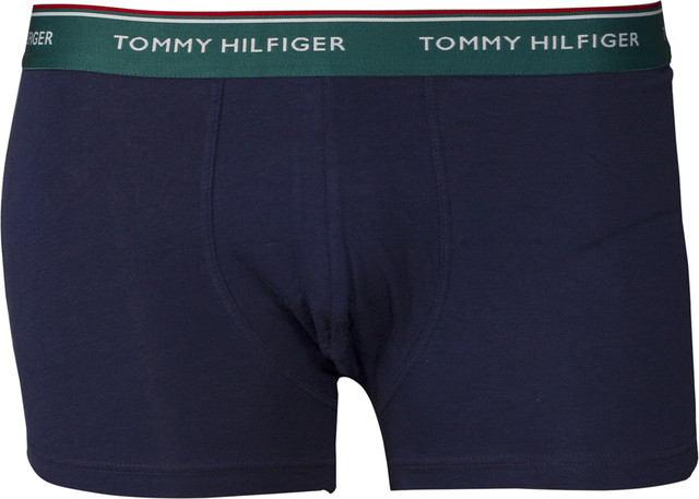 Bokserki 3Pack Tommy Hilfiger  <br/><small>TRUNK 358 BAYBERRY/MALIBU BLUE/PEACOAT </small>  1U87903842-358