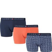 Tommy Hilfiger 3P TRUNK 415 FLAG INFINITY/DEEP SEA CORAL/NAVY BLAZER UM0UM00728-415